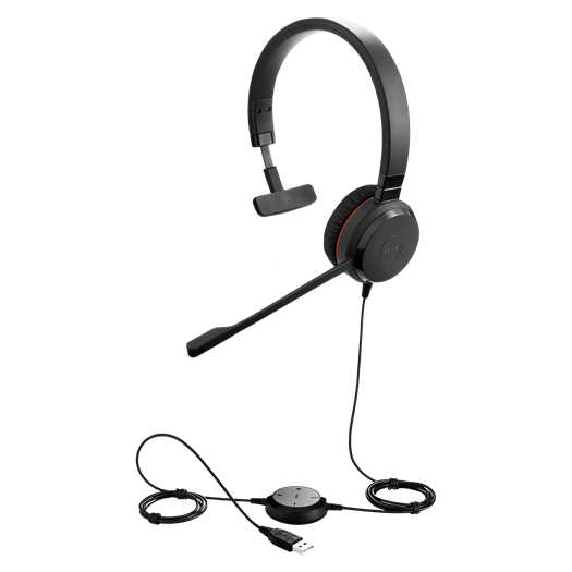 Jabra Evolve 20 SE MS Mono Headset