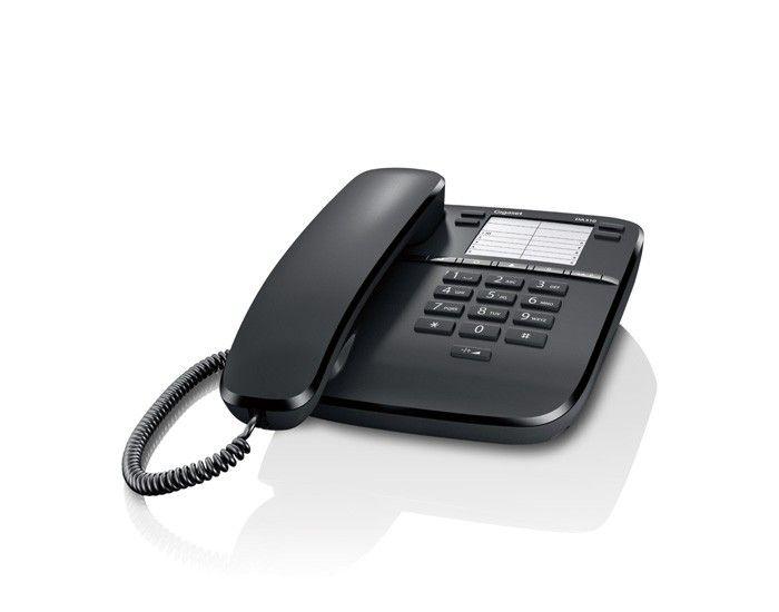 Gigaset DA310 schwarz Tischtelefon