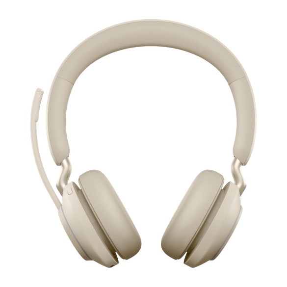 Jabra Evolve2 65 MS Stereo BT USB-A Headset beige