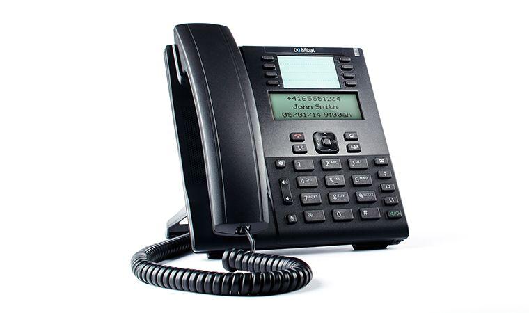 Mitel 6865i VoIP SIP Tischtelefon ohne Netzteil