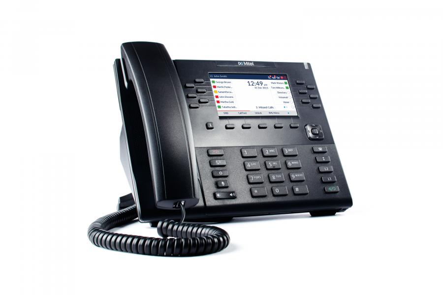 Mitel 6869 VoIP SIP Tischtelefon ohne Netzteil