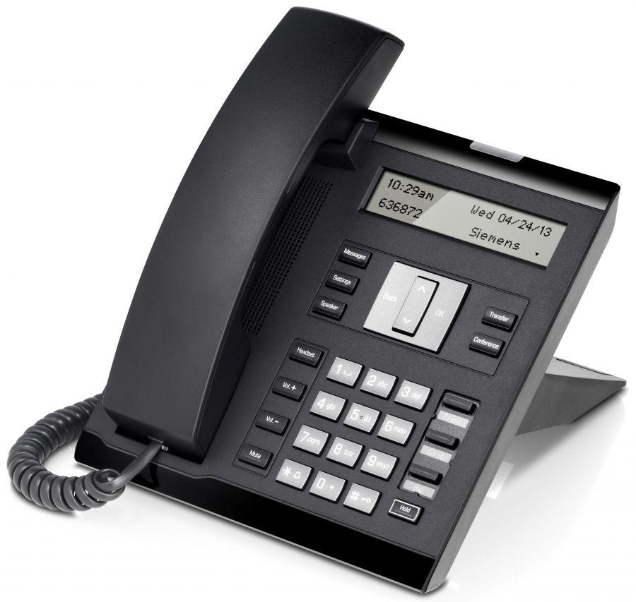 Unify OpenScape IP35G HFA icon schwarz Tischtelefon