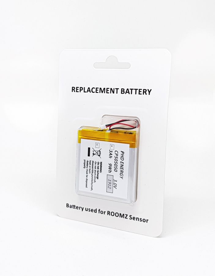 ROOMZ Sensor Batterie (für alle Arten von Sensoren)