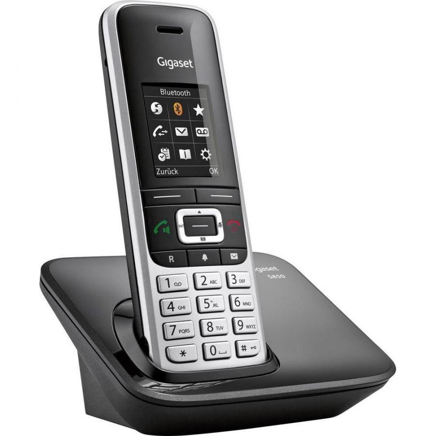 Gigaset S850 schwarz DECT SLT Mobilteil