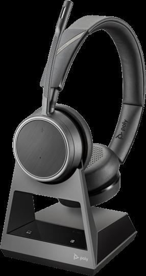 Plantronics Voyager 4220 UC Headset USB-A inkl. Ladestation
