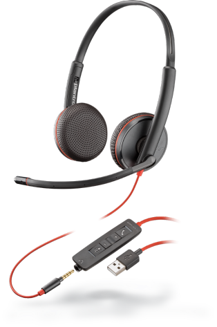 Plantronics Blackwire C3225 USB Headset
