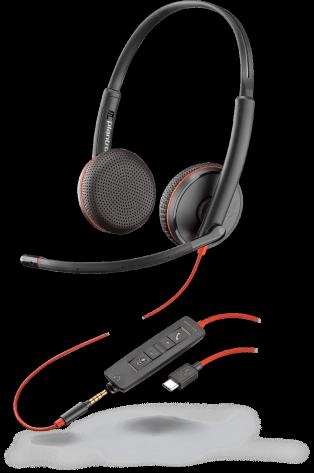 Plantronics Blackwire C3225 USB-C Headset