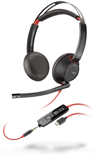 Plantronics Blackwire C5220 USB-C Headset