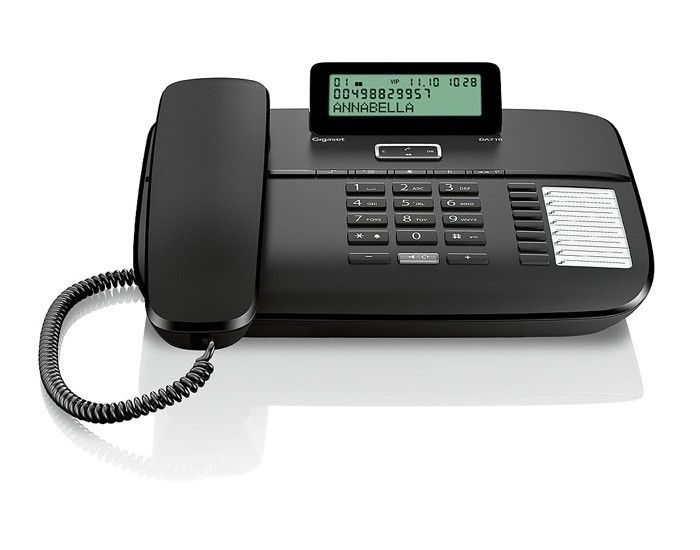 Gigaset DA710 schwarz Tischtelefon