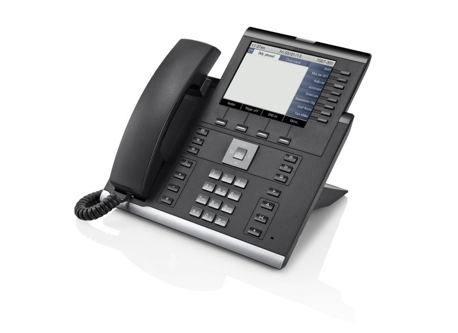 Unify OpenScape IP55GHFA text schwarz Tischtelefon