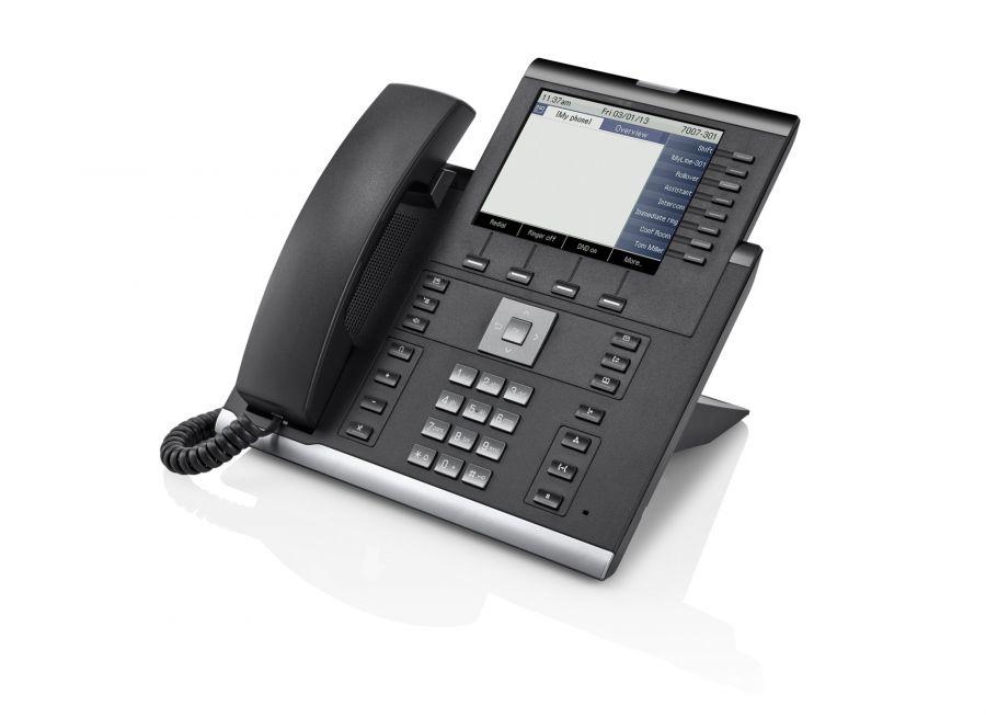 Unify OpenScape IP55GHFA icon schwarz Tischtelefon