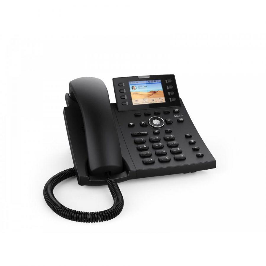 Snom D335 SIP schwarz Tischtelefon