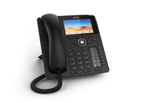 Snom D785 SIP schwarz Tischtelefon