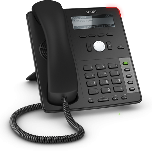 Snom D715 SIP schwarz Tischtelefon