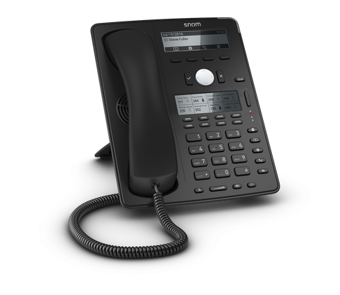 Snom D745 SIP schwarz Tischtelefon