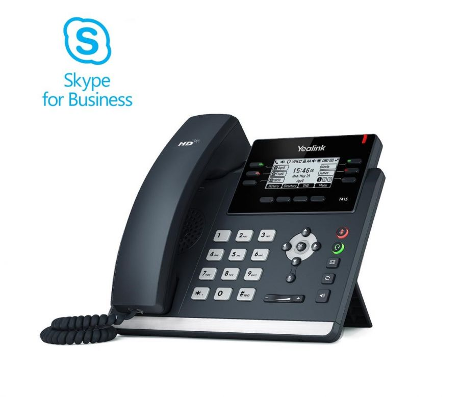 Yealink T41S SIP Skype for Business Telefon