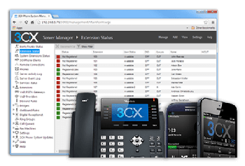 3CX UI - PRO 16SC Maintenance