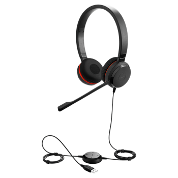 Jabra Evolve 20 SE MS Duo Headset