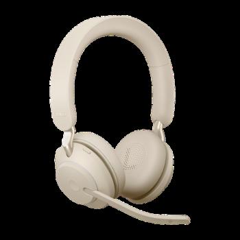 Jabra Evolve2 65 UC Stereo BT USB-C Headset beige