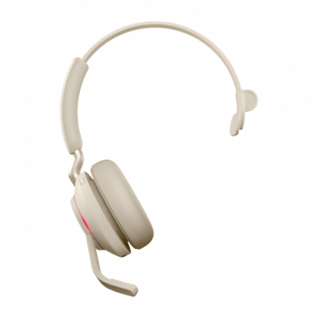 Jabra Evolve2 65 MS Mono BT USB-C Headset beige