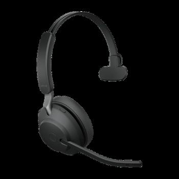 Jabra Evolve2 65 UC Mono BT USB-A Headset inkl. Ladestation schwarz