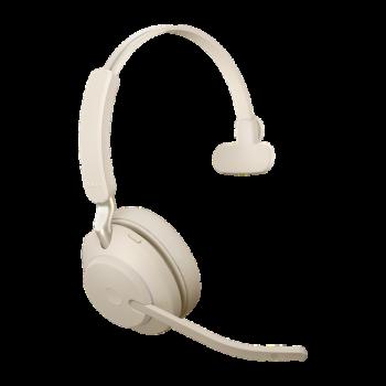 Jabra Evolve2 65 UC Mono BT USB-A Headset beige
