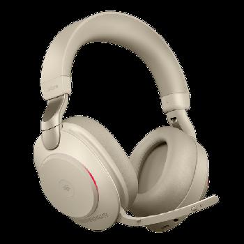 Jabra Evolve2 85 MS Stereo BT USB-C Headset beige