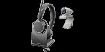 Poly Studion P5 mit Voyager 4220