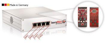 beroNet berofix SMB w. 2S0+2FXS