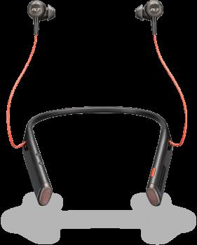 Plantronics Voyager 6200 UC schwarz Headset
