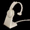 Jabra Evolve2 65 UC beige mit Ladestation