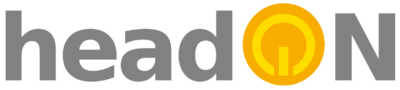 Logo headON Communications GmbH